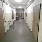 Chodba na ubytovně v Brně