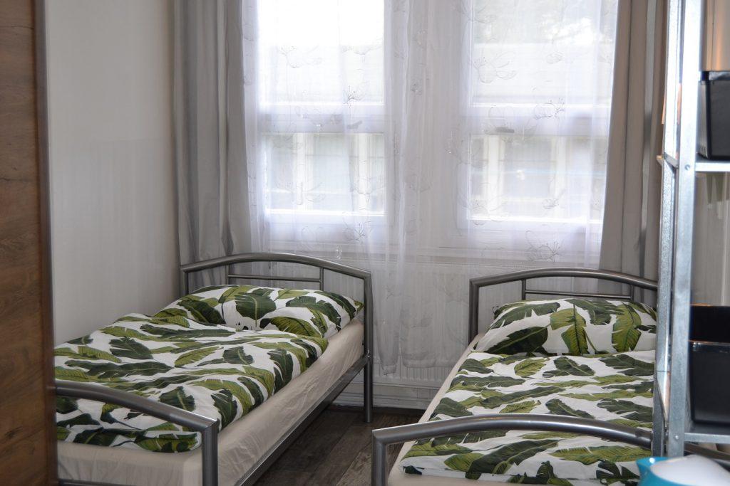 Postele na brněnské ubytovně - vždy čisté